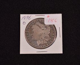 1896-o U.s. Morgan Silver Dollar