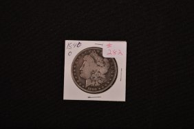 1890-o U.s. Morgan Silver Dollar