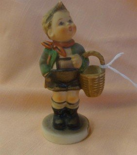 Hummel Figurine: Village Boy' #51 3/0; TM 3.