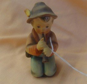 Hummel Figurine: Little Tooter; #214/H; TM 4.