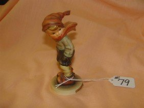 Hummel Figurine: March Winds; #43; TM 3. Book