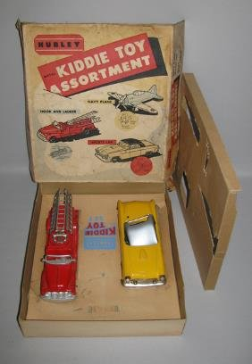 BOXED HUBLEY NO. 55 KIDDIE TOY ASSORTMENT