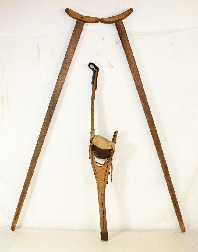 wooden peg leg 2