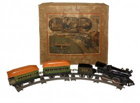 BOXED AMERICAN FLYER TRAIN SET