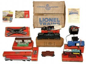 BOXED LIONEL 2271W FREIGHT SET
