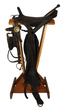 MCCLELLAN STYLE SADDLE WITH BRIDLE