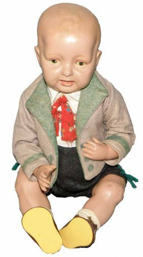 CELLULOID TODDLER DOLL