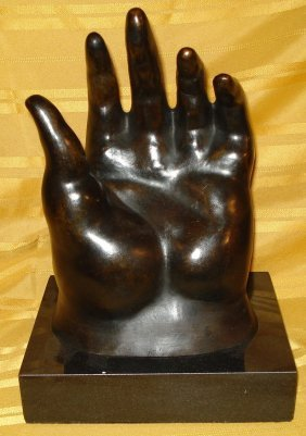 Fernando Botero Colombian Large Bronze