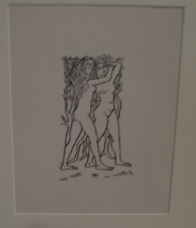 After Aristide Maillol Lithograph