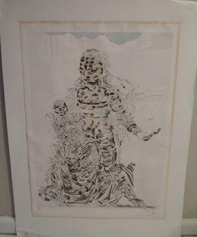 Salvador Dali Color Lithograph Madonna
