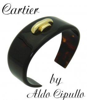 Estate 1970 Cartier Aldo Cipullo 18k Gold Rare Cuff