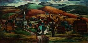 Francis Colburn (vt 1909-1984) From Heath Hill, Barton