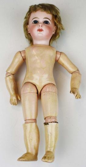 French Jumeau E4j Bebe Fashion Doll