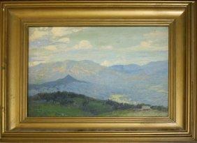 Charles Hoffbauer (american 1875-1957) Adirondack