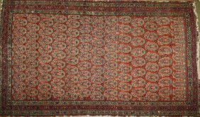 Early 20th C Persian Area Rug With Allover Boteh