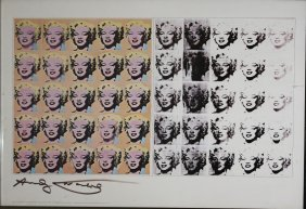 Andy Warhol (american 1928-1987) Marilyn Diptych-