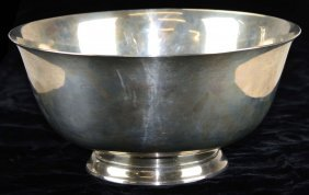 """Dominick & Haff Sterling Silver Bowl Marked """"paul"""