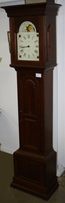 Grandfather Clock, Howard Miller Cherry Case, Moon