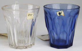 Pittsburgh Early American Pattern Glass Paneled Cobalt