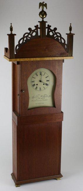 Robert Fenix Aaron Willard Jr Replica Wall Clock, Ht
