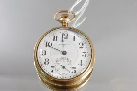 Merrimar 21 Jewel Pocket Watch