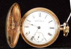 American Waltham Watch Co. Hunters Case Pcket Watch.