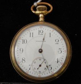 Waltham 17 Jewel Pocket Watch