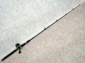 Fishing Gear, Graphite Rod With Reel