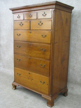 Tall Chest, Provenance  To Pulaski County, VA