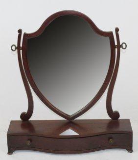 American Shield Form Shaving Mirror