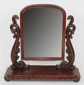 American Victorian Shaving Dressing Mirror