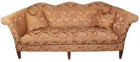 Trfs Furniture Camel Back Upholstered Sofa