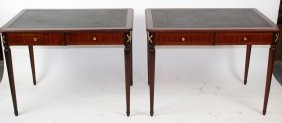 Pair Of French Directoire Console Tables.