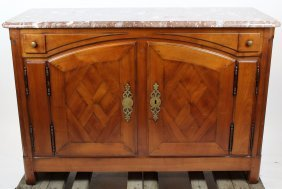 French Rene Trotel Signed Buffet Bas