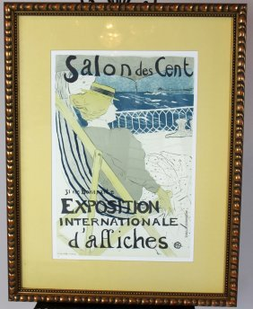 French Print Exposition Internationale D'affiches