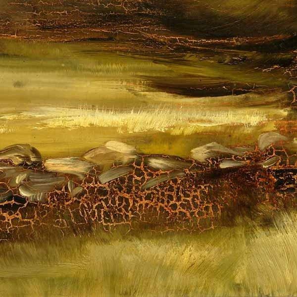 Oil Painting Heat Damage