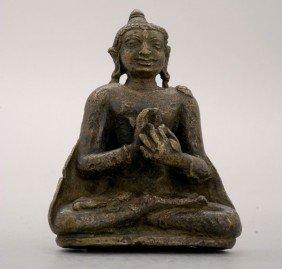 A Pala Bronze Figure Of The Buddha, Circa 11th C.