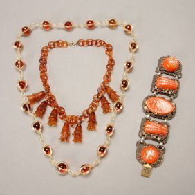 Group Of 1960's Costume Jewelry