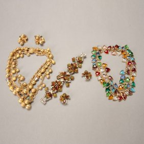 Assortment Of Vintage Costume Jewelry
