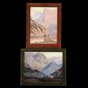 Fred Sayre 2 Works Serigraphs
