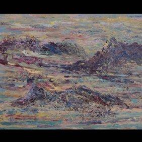 Carmel Shore, Acrylic On Canvas