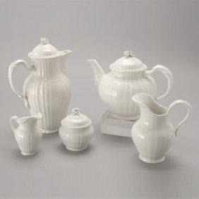 KPM Berlin Porcelain Rocaille Coffee And Tea Set