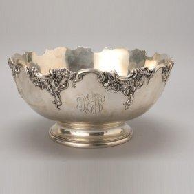 Art Nouveau Wallace Sterling Punch Bowl