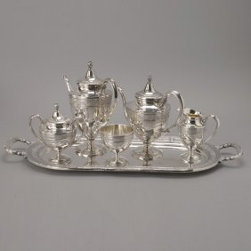 International Sterling 6 Piece Tea & Coffee Set