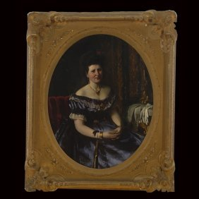 TOBIAS ROSENTHAL Portrait Of Anna McKenna Tillman