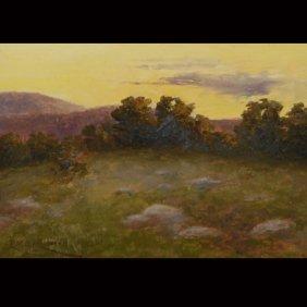 "LYDIA HUBBARD   ""Landscape""  Oil"