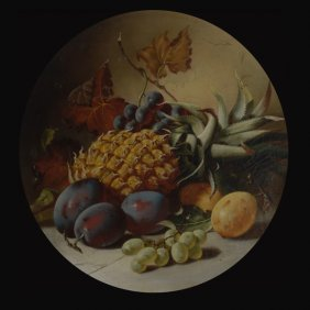 "Continental School  ""Still Life With Fruit"""