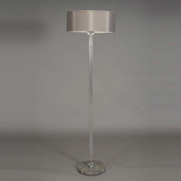 glass rod ball art deco floor lamp lot 1106. Black Bedroom Furniture Sets. Home Design Ideas