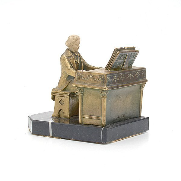 Pair of french marble and gilt metal figural bookends lot 561 - Piano bookends ...