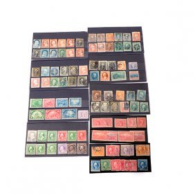 Collection Of Us Stamps - Scott Stamp Catalogue Value